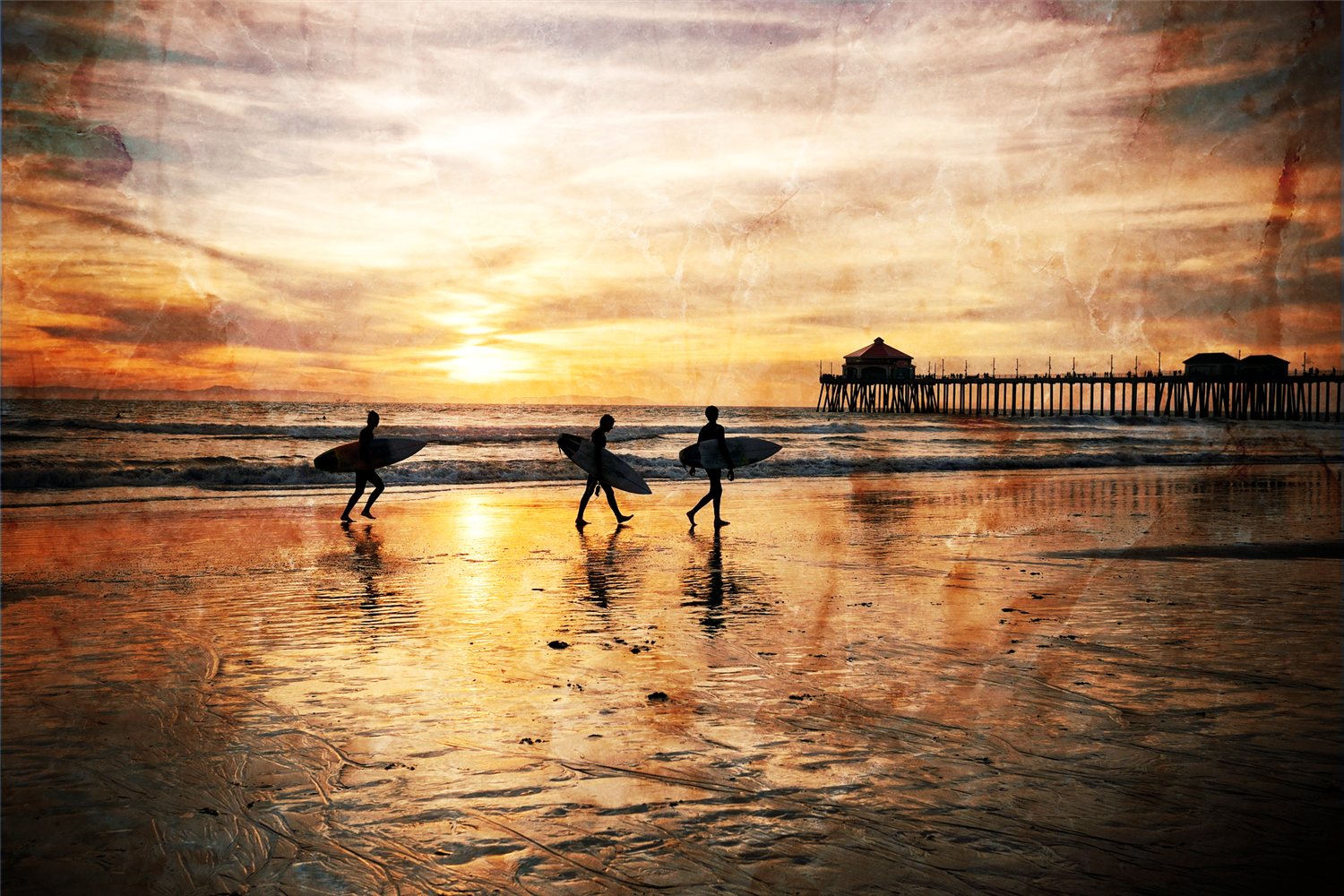 huntington beach surfers